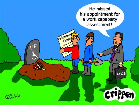 Crippen's Work Capability Assessment cartoon