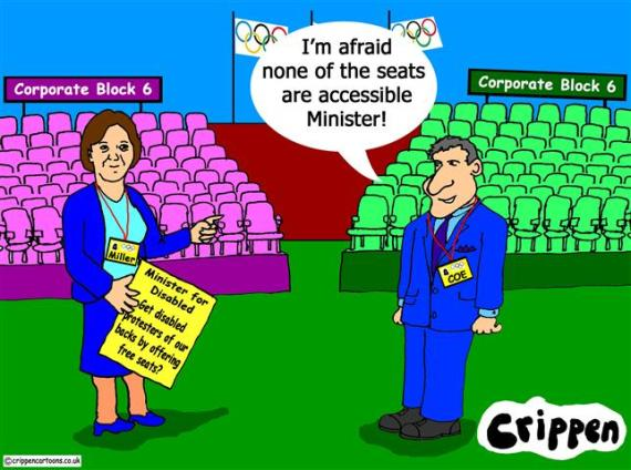 Crippen's take on the empty olympic seating fiasco