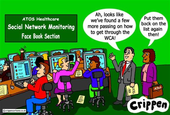 Face Book monitoring