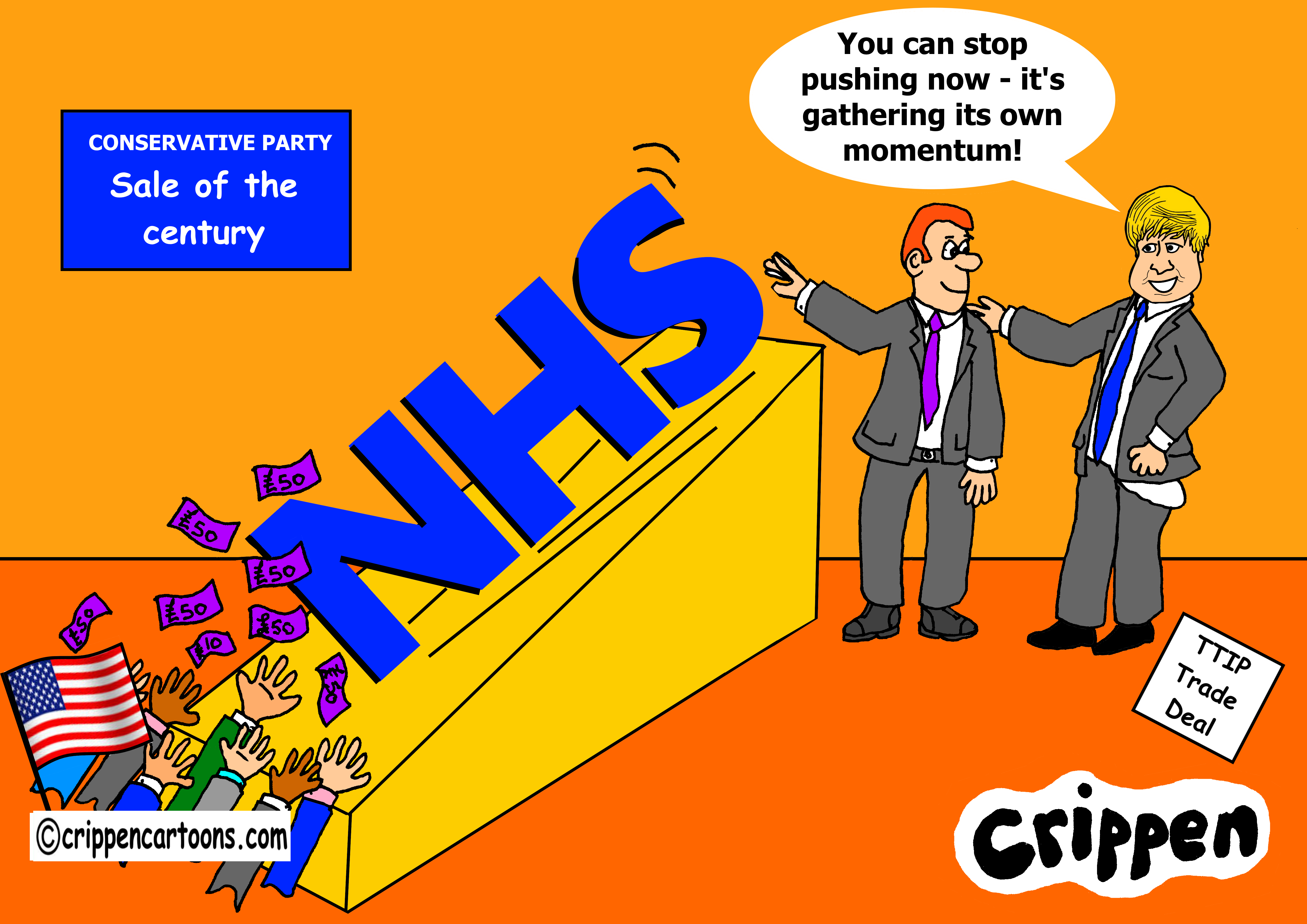 8 NHS sell-off